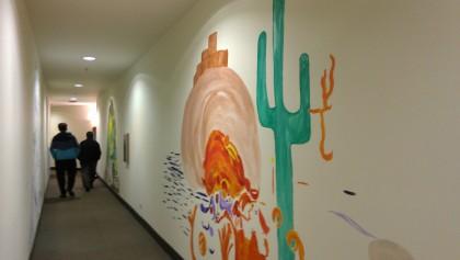 hallway desert
